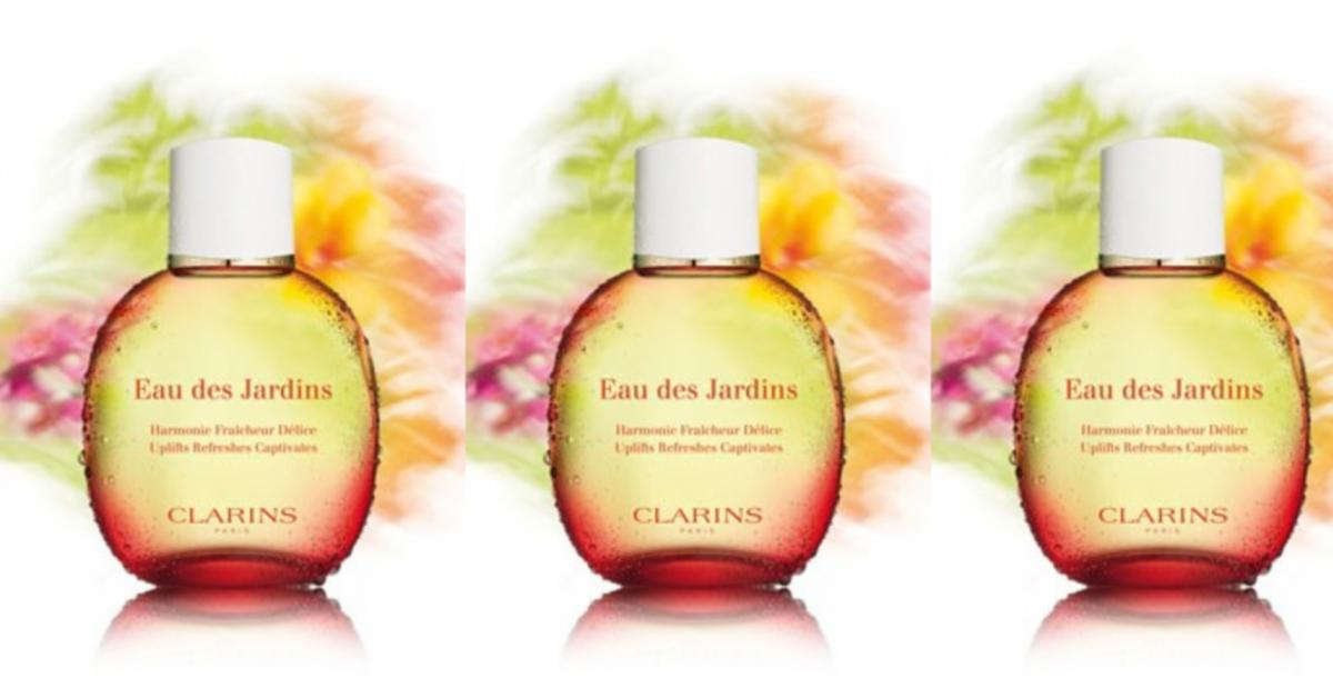 Clarins Eau des Jardins Natural Spray